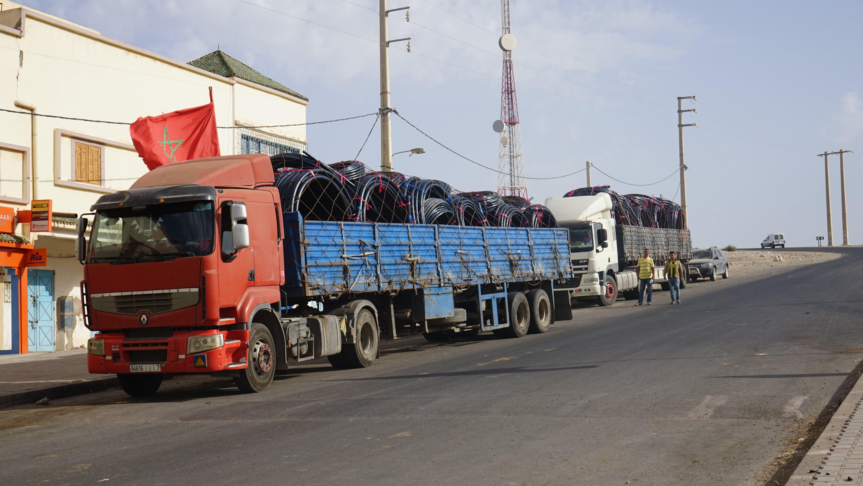 pipe in trucks